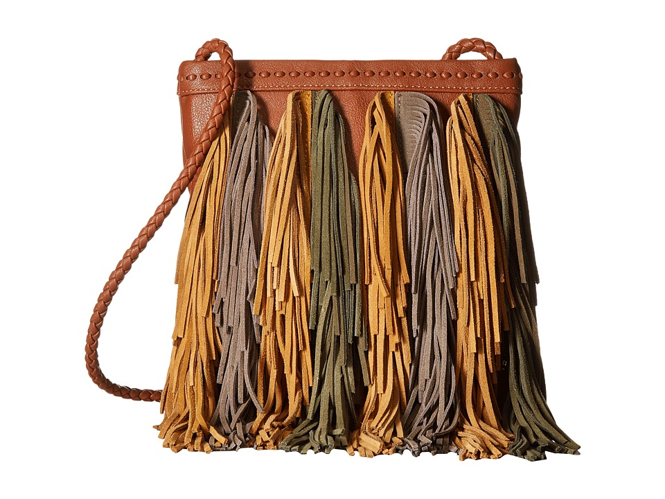 Sam Edelman - Jane Crossbody (Cognac Multi) Cross Body Handbags