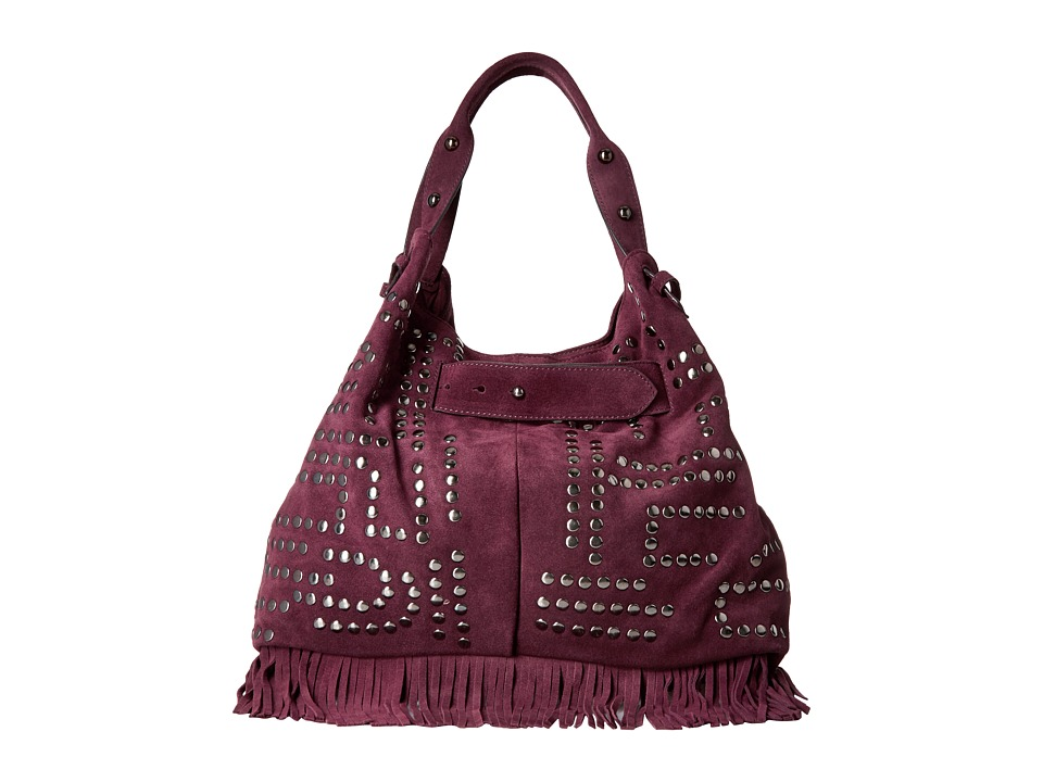 Sam Edelman - Emily Studded Bucket (Portwine) Handbags