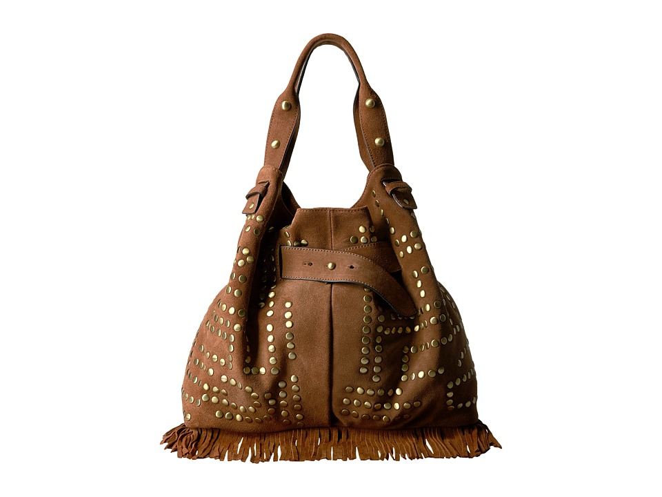 Sam Edelman - Emily Studded Bucket (Cognac) Handbags