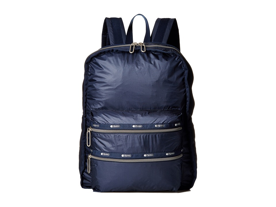 LeSportsac - Functional Backpack (Classic Navy) Backpack Bags
