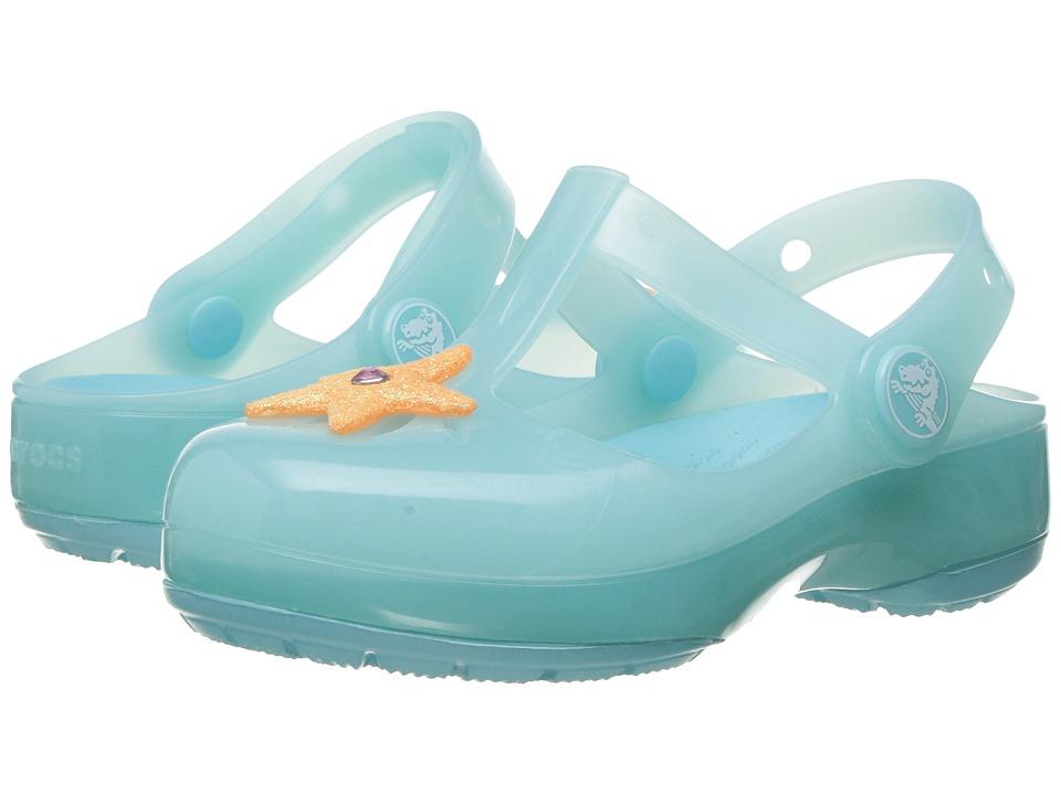 Crocs Kids - Isabella Clog PS (Toddler/Little Kid) (Sky Blue) Girls Shoes