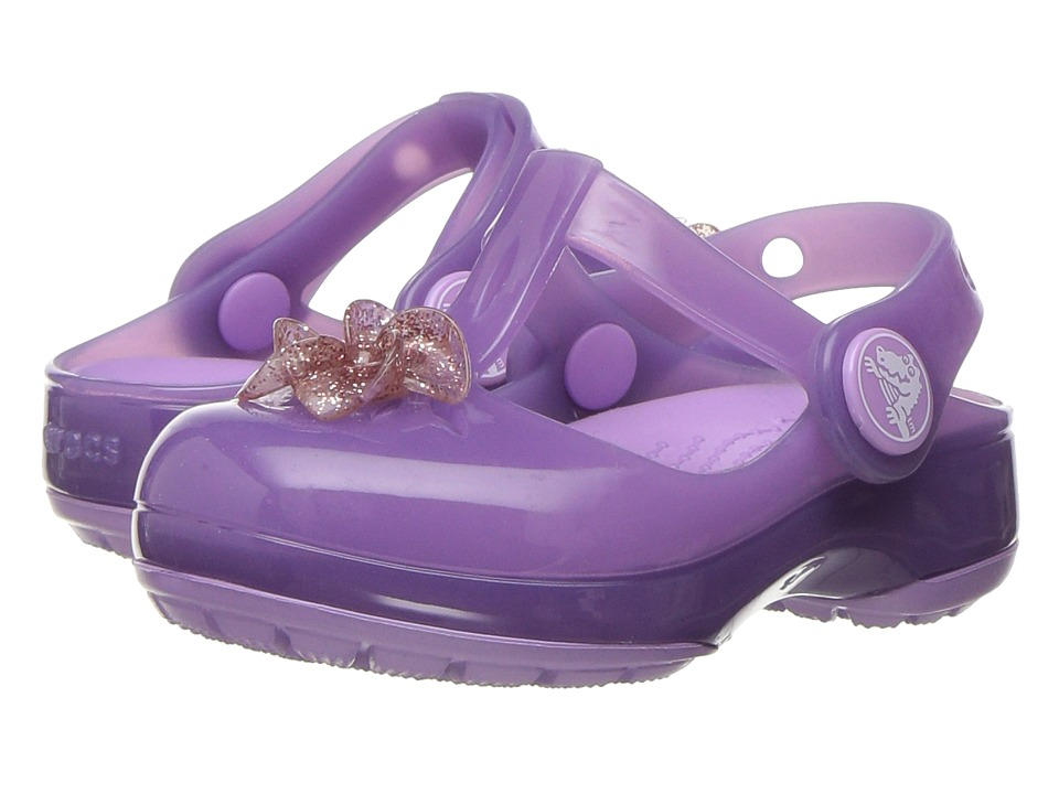 Crocs Kids - Isabella Clog PS (Toddler/Little Kid) (Iris) Girls Shoes