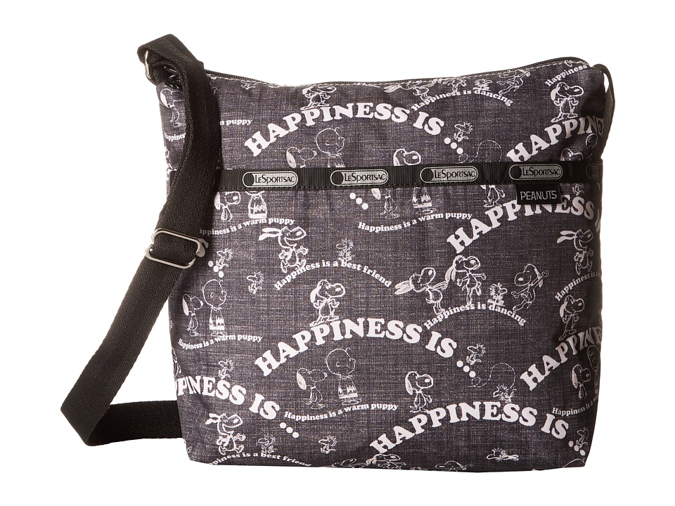 LeSportsac - Small Cleo Crossbody Hobo (Happiness All Over) Cross Body Handbags