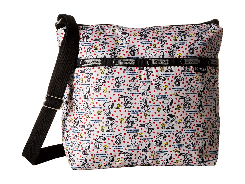 LeSportsac - Small Cleo Crossbody Hobo (Happiness Dots) Cross Body Handbags