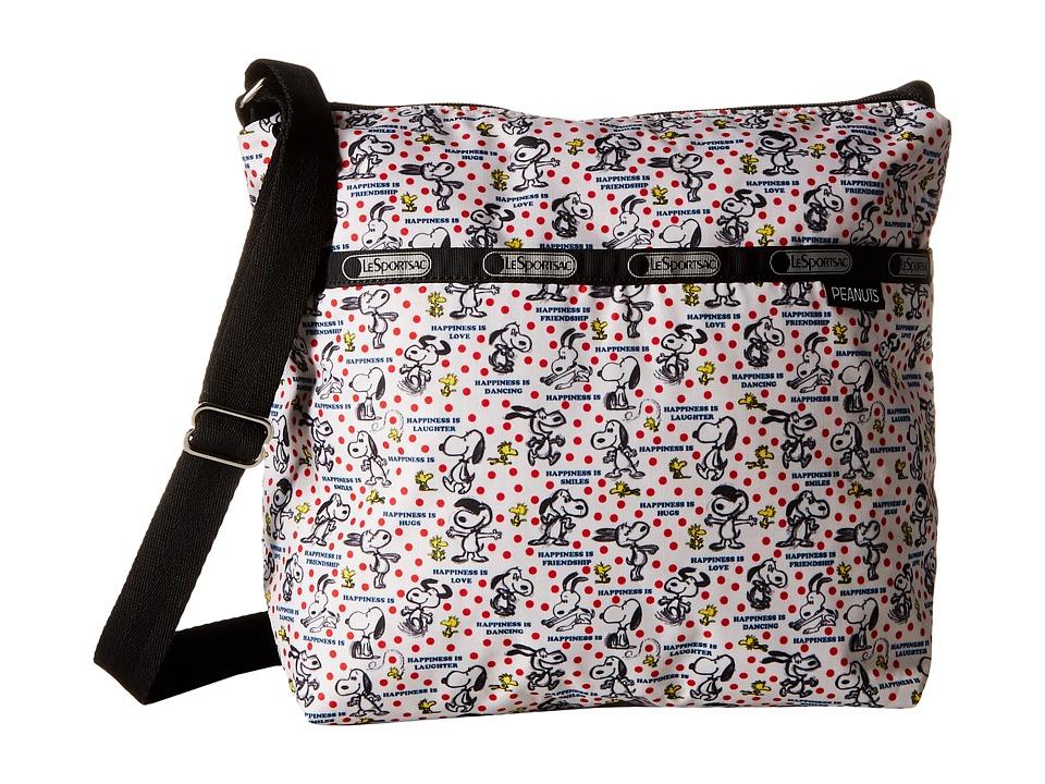 LeSportsac - Small Cleo Crossbody Hobo (Happiness Dots) Cross Body Handbags