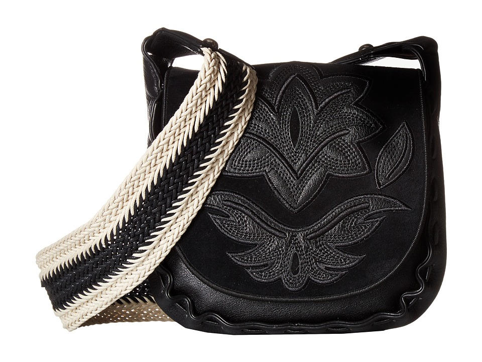 Sam Edelman - Emma Saddle (Black) Handbags
