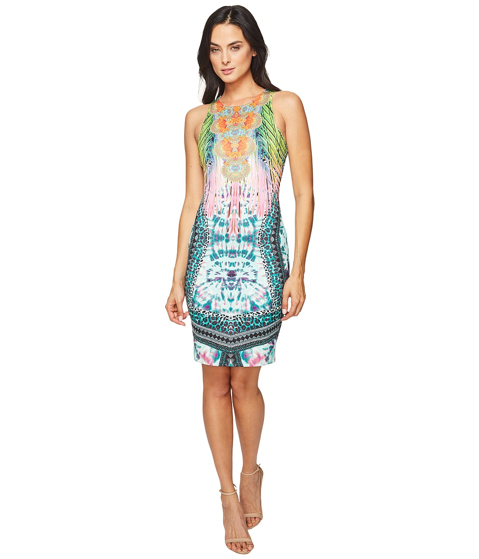 Hale Bob Sky High Stretch Neoprene Dress