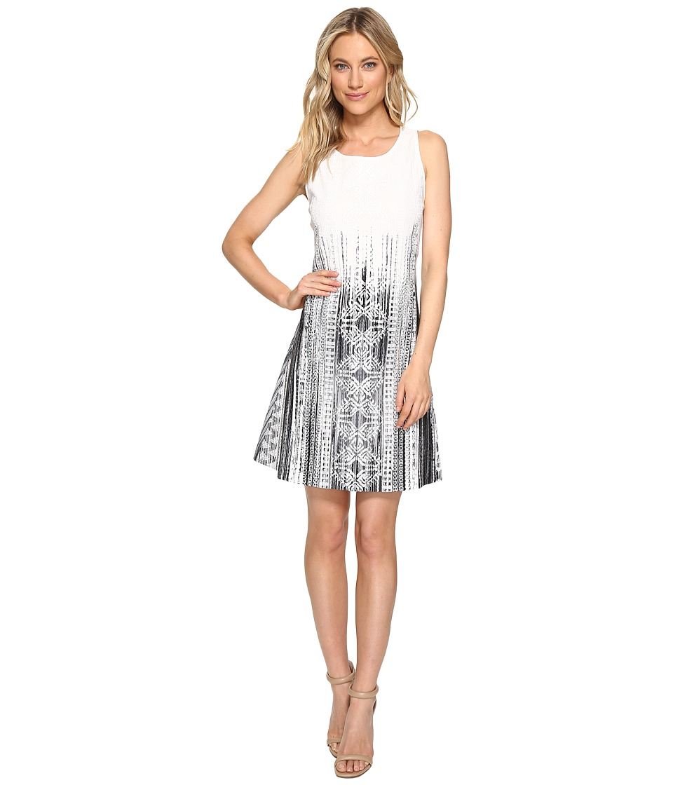 Hale Bob Ligthen Up Heavy Stretch Crepe Knit Dress