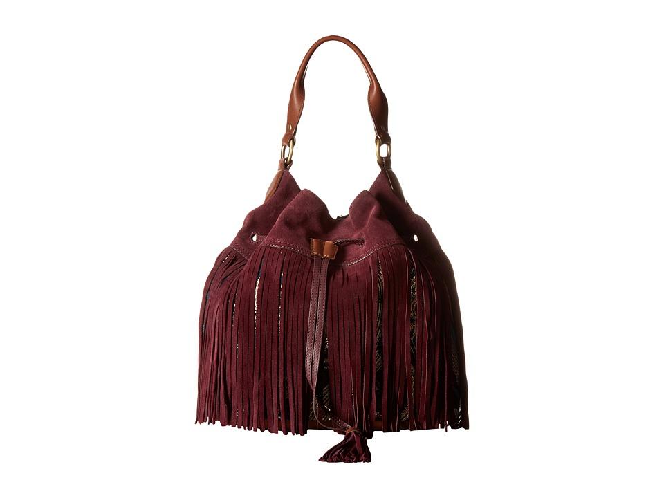 Sam Edelman - Tyra Hobo (Portwine) Hobo Handbags