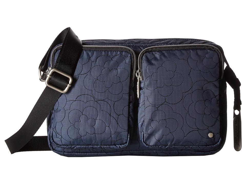 LeSportsac - Crosby Crossbody (Poof Nightshadow) Cross Body Handbags