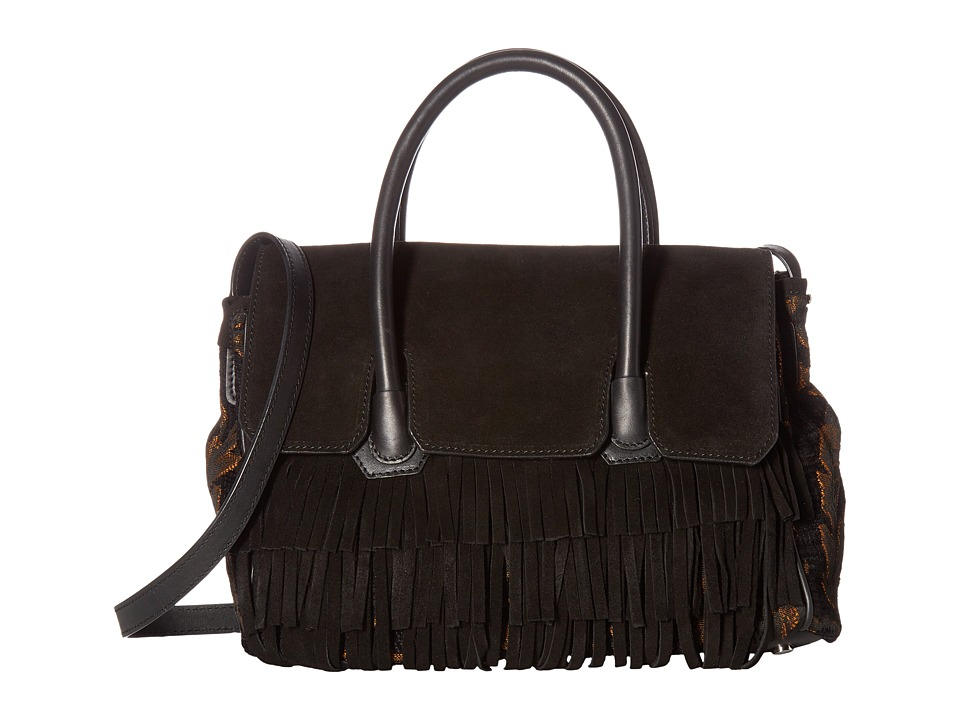 Sam Edelman - Sylvia Convertible Satchel (Black) Satchel Handbags