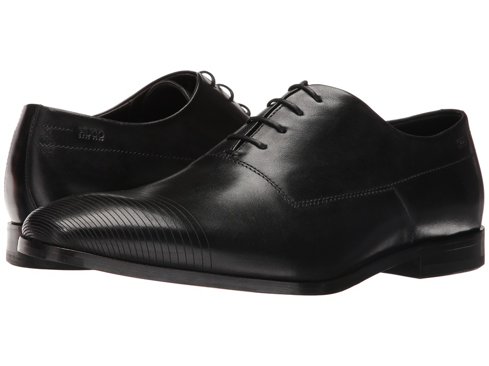 BOSS Hugo Boss - Square Oxford by HUGO (Black) Men's Lace up casual Shoes