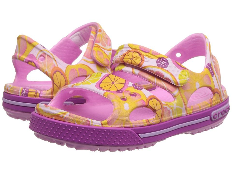 Crocs Kids - Crocband II Graphic Sandal (Toddler/Little Kid) (Fruit) Kids Shoes