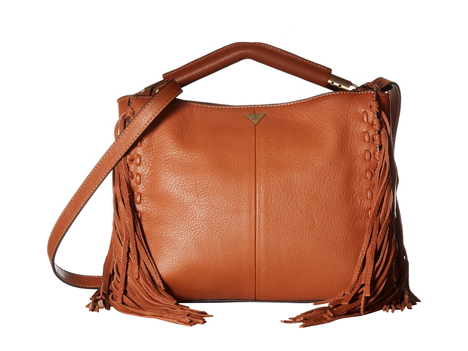 Sam Edelman - Zoey Shoulder (Cognac) Shoulder Handbags
