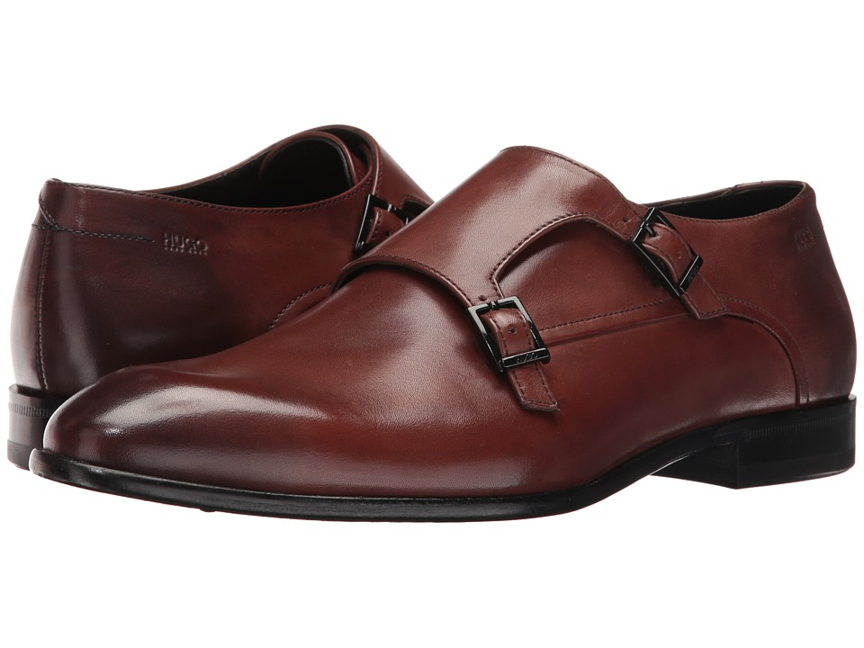 BOSS Hugo Boss - Dressapp Monk by HUGO (Medium Brown) Men's Shoes