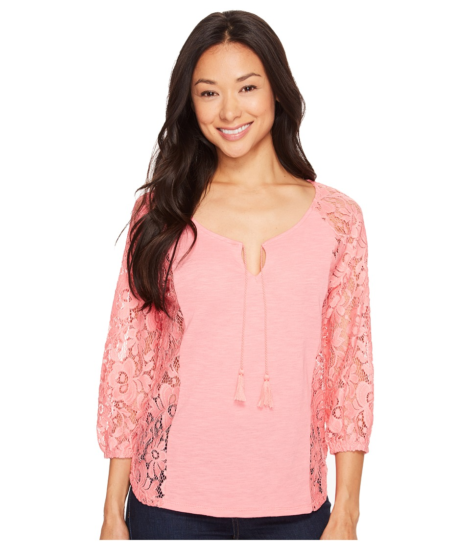 Ariat - Hannah Top (Pale Flamingo) Women's Blouse