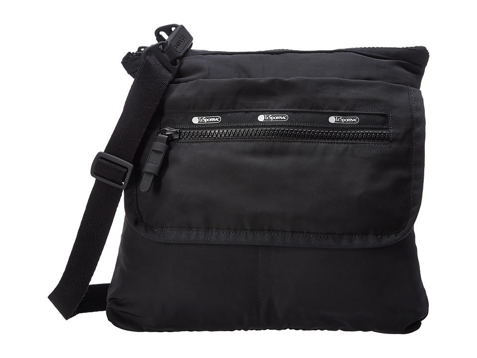 LeSportsac Luggage - Flight Crossbody (True Black) Cross Body Handbags