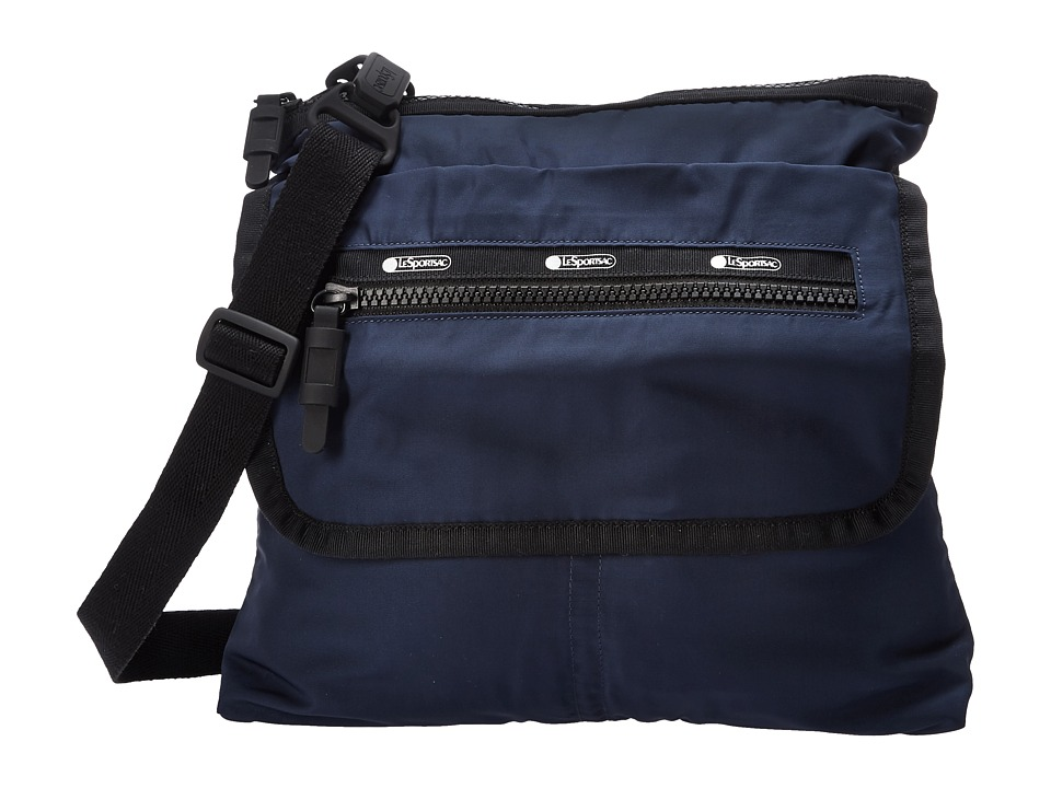 LeSportsac Luggage - Flight Crossbody (Classic Navy) Cross Body Handbags