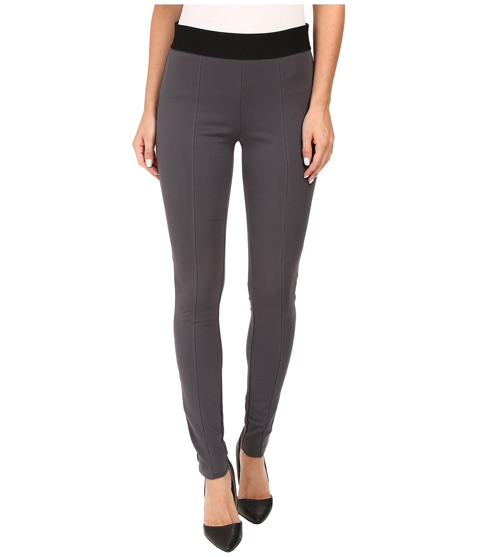 HUE - Blackout Leggings (Cobblestone) Women's Casual Pants
