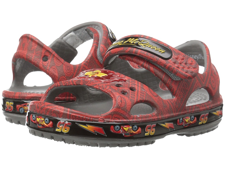 Crocs Kids - Crocband II Lightning McQueen (Toddler/Little Kid) (Flame) Boy's Shoes