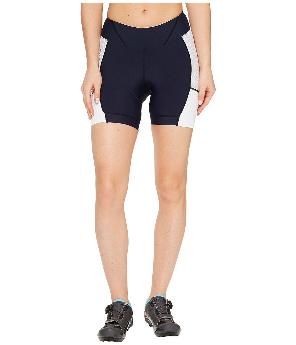 Louis Garneau - Power Carbon 5.5 Shorts (White/Dark Night) Women's Shorts
