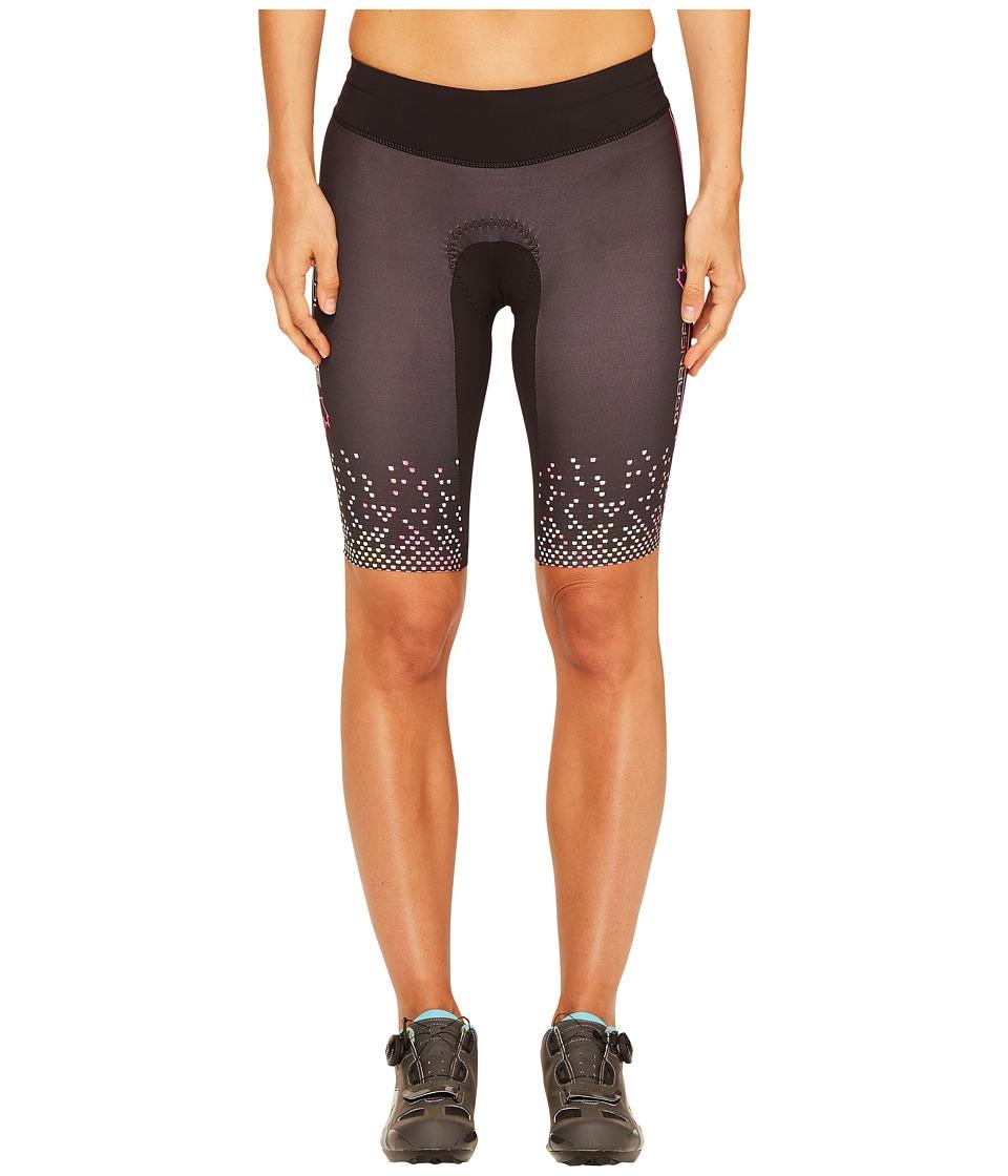 Louis Garneau - Tri Course Shorts (Black/Multicolor) Women's Shorts