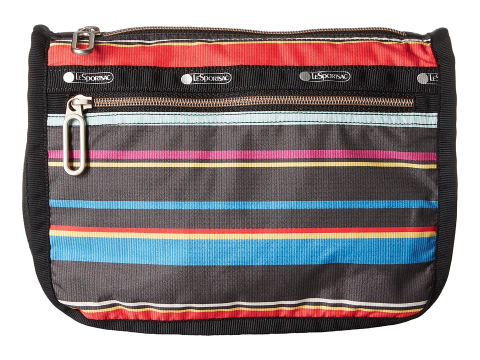 LeSportsac Everyday Cosmetic Case (Ribbon Stripe) Cosmetic Case
