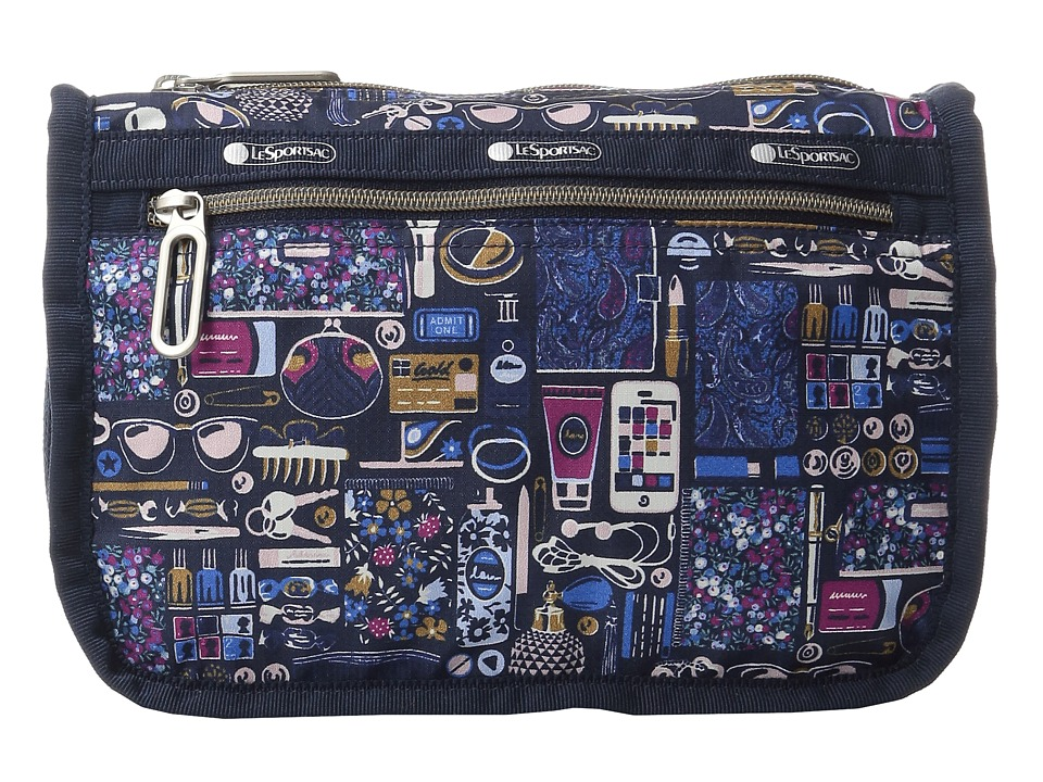 LeSportsac - Everyday Cosmetic Case (Out and About Black) Cosmetic Case