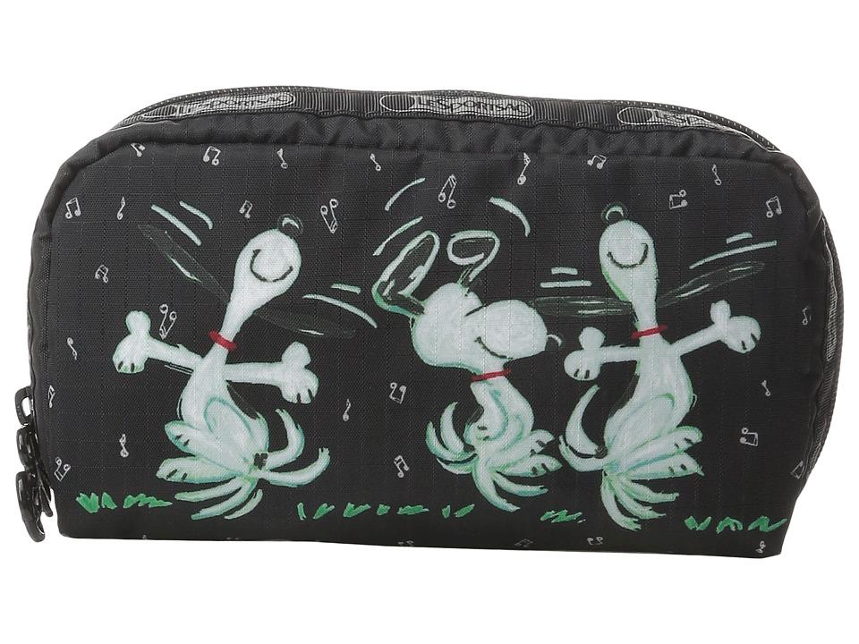 LeSportsac - Rectangular Cosmetic (Dance Away) Clutch Handbags