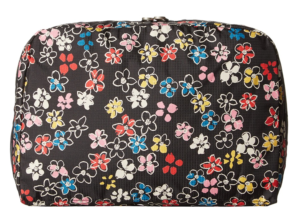 LeSportsac Luggage XL Essential Cosmetic (Flower Burst) Cosmetic Case