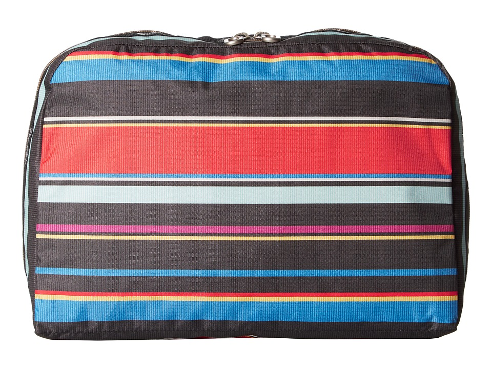 LeSportsac Luggage XL Essential Cosmetic (Ribbon Stripe) Cosmetic Case