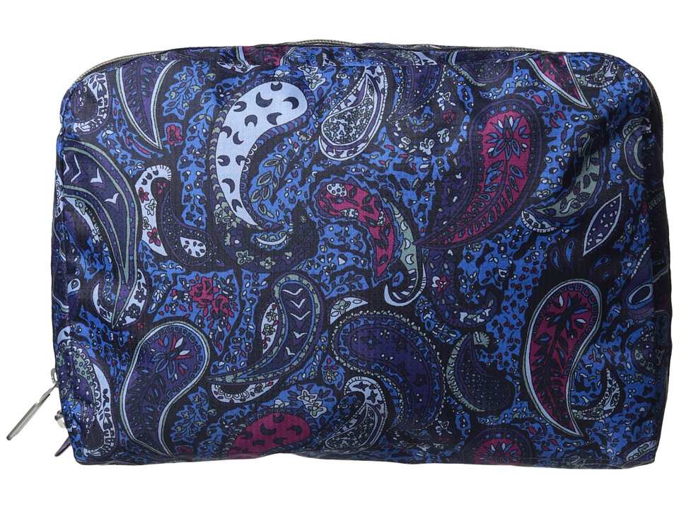 LeSportsac Luggage XL Essential Cosmetic (Eastern Voyage Blue) Cosmetic Case