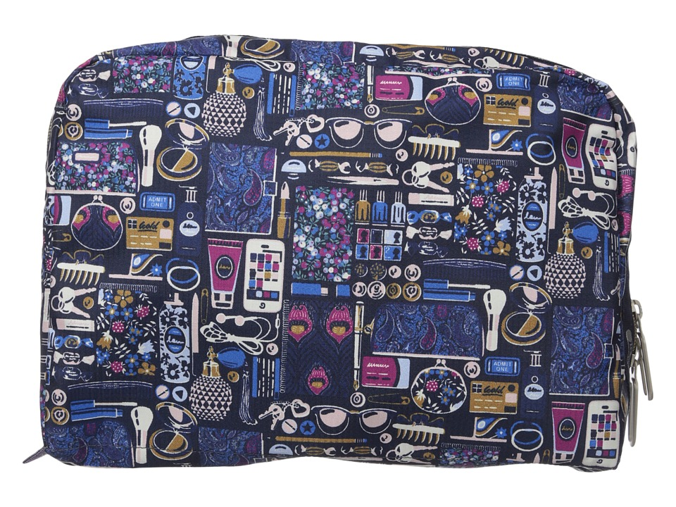LeSportsac Luggage - XL Essential Cosmetic (Out and About Black) Cosmetic Case