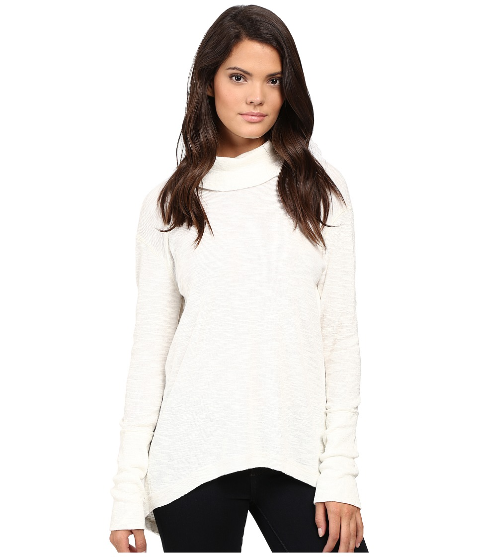 Free People - Tara Turtleneck (Ivory) Women's Clothing