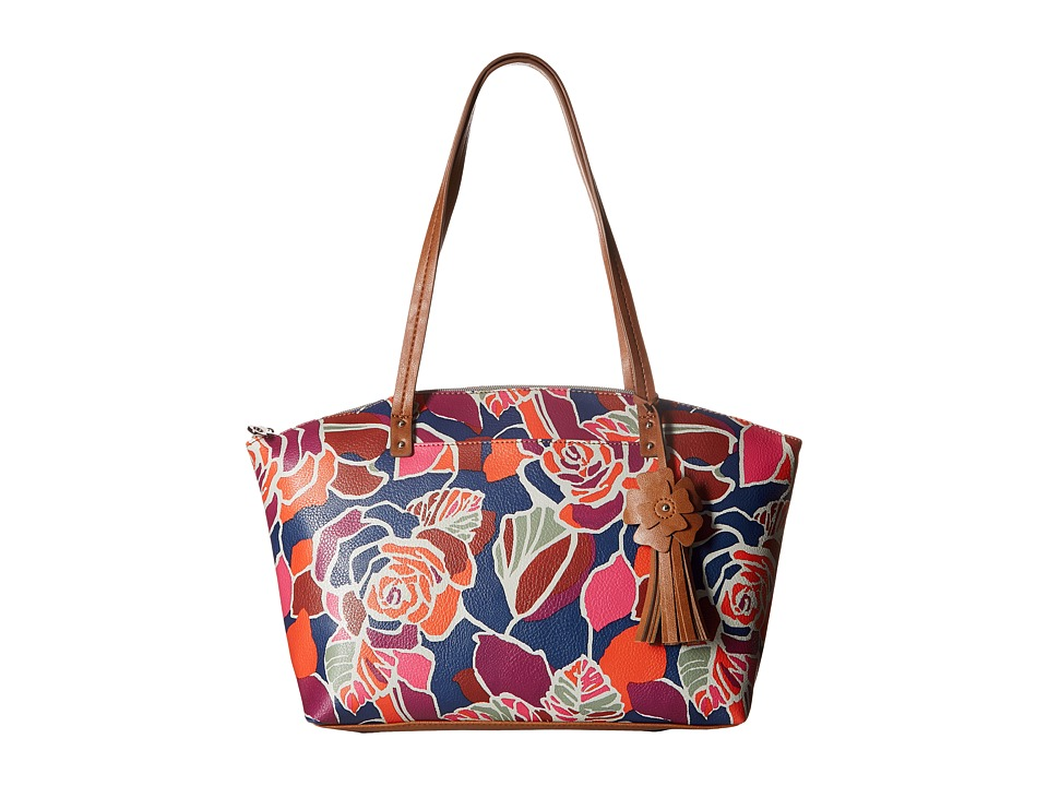 Relic - Caraway Novelty Medium Tote (Rose) Tote Handbags