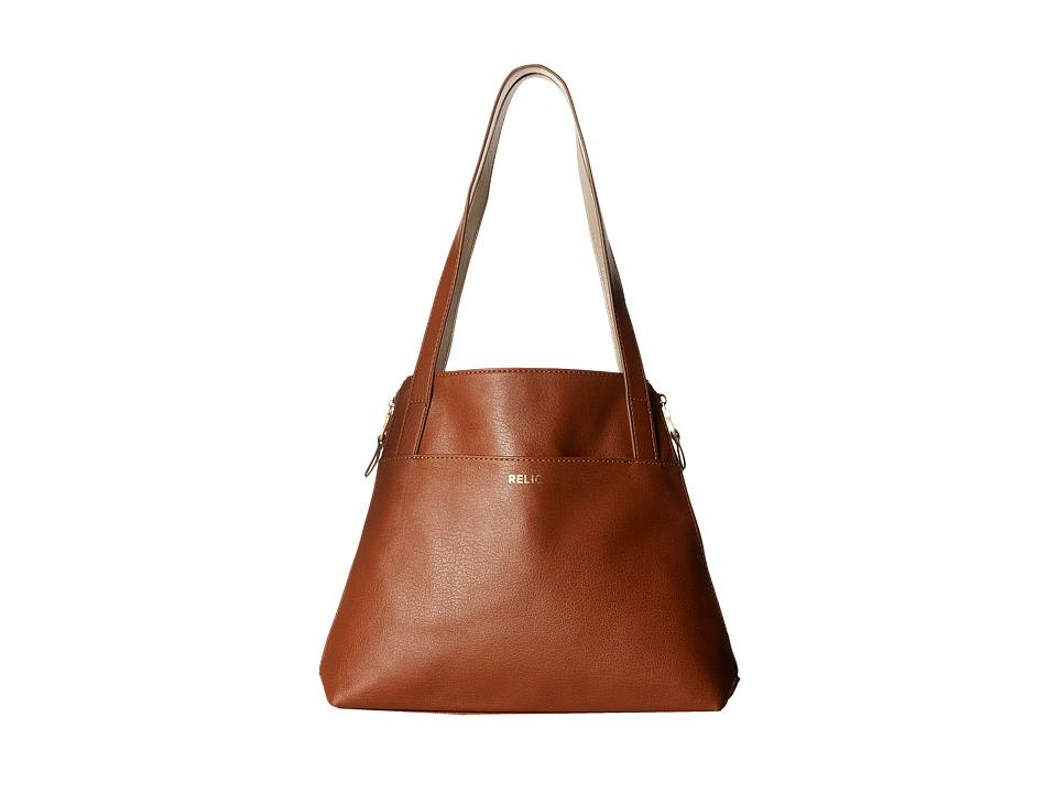 Relic - Emma Tote (Saddle) Tote Handbags