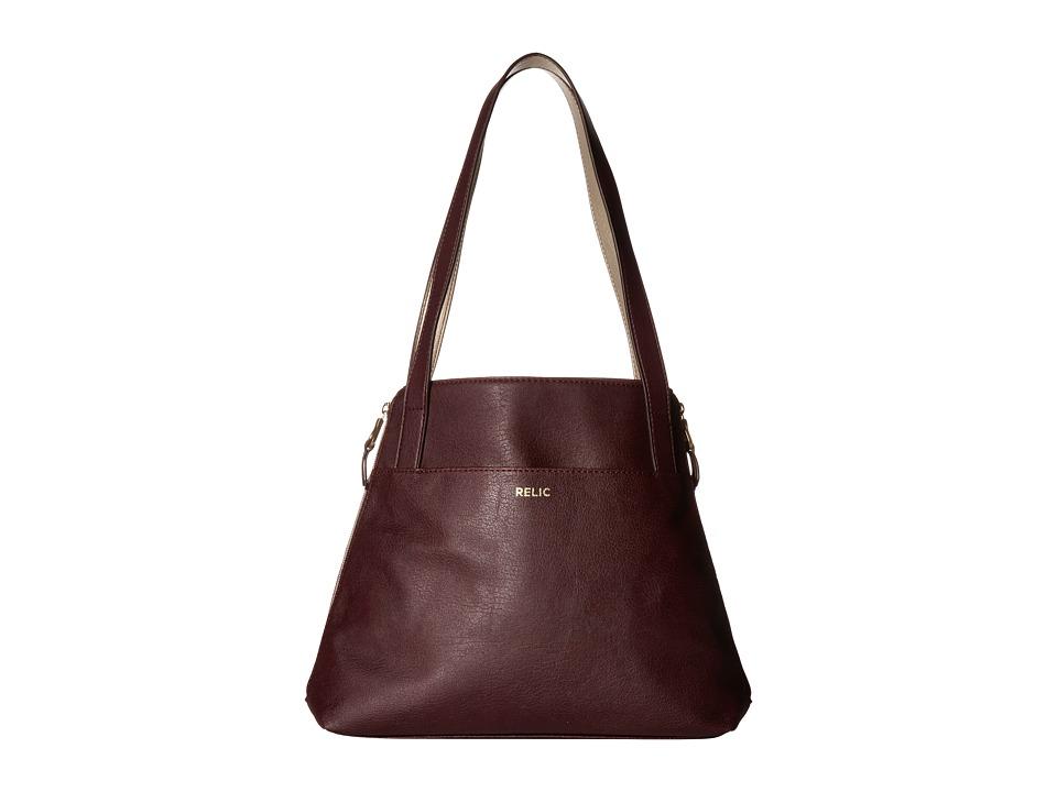 Relic - Emma Tote (Wine Multi) Tote Handbags