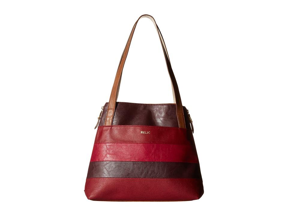 Relic - Emma Tote (Red Multi) Tote Handbags