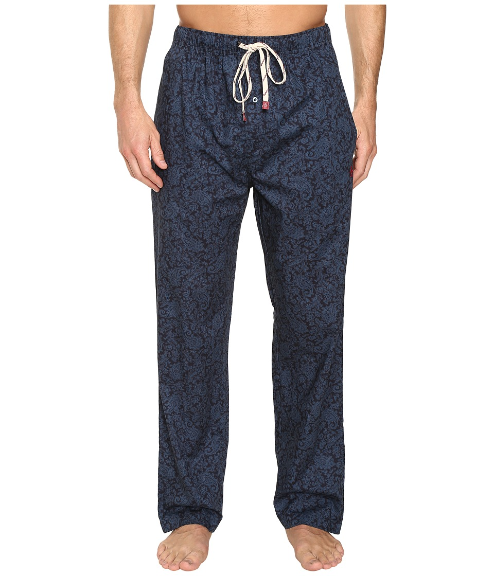 Original Penguin - Single Woven Pants (Aegean Blue) Men's Pajama