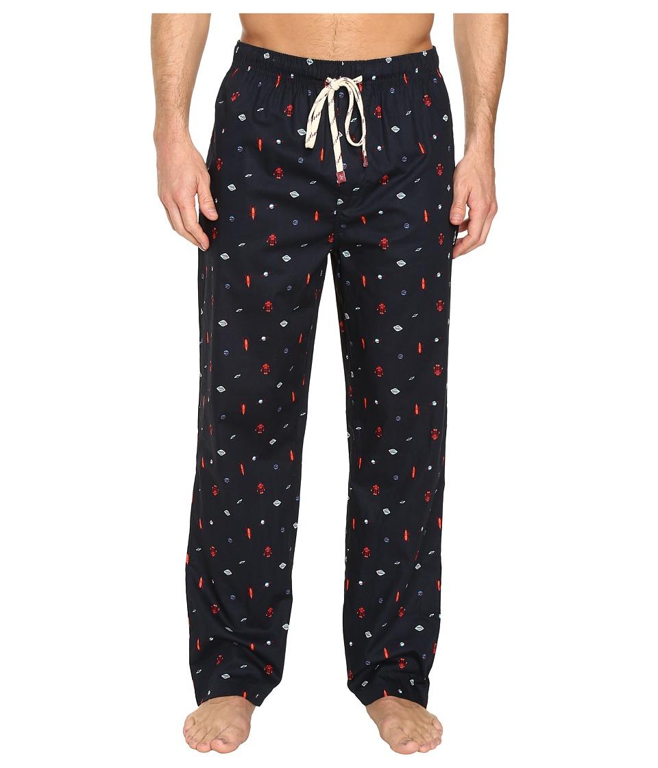 Original Penguin - Single Woven Pants (Dark Sapphire) Men's Pajama