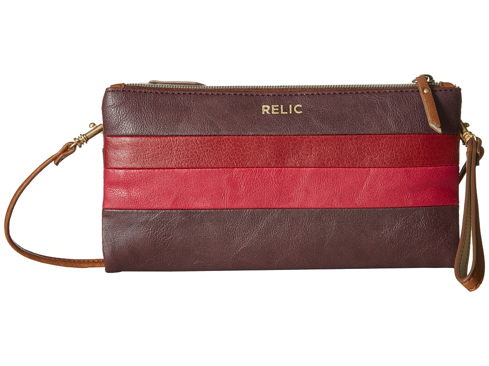 Relic - Emma Wristlet Crossbody (Red Multi) Cross Body Handbags