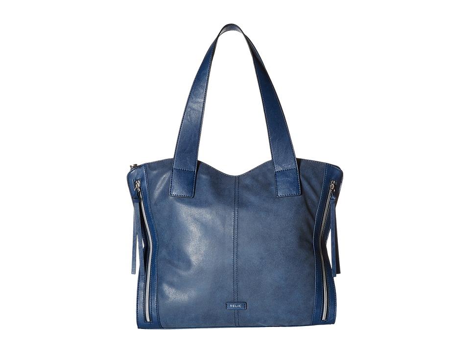 Relic - Kerrington Tote (Insignia Blue) Tote Handbags