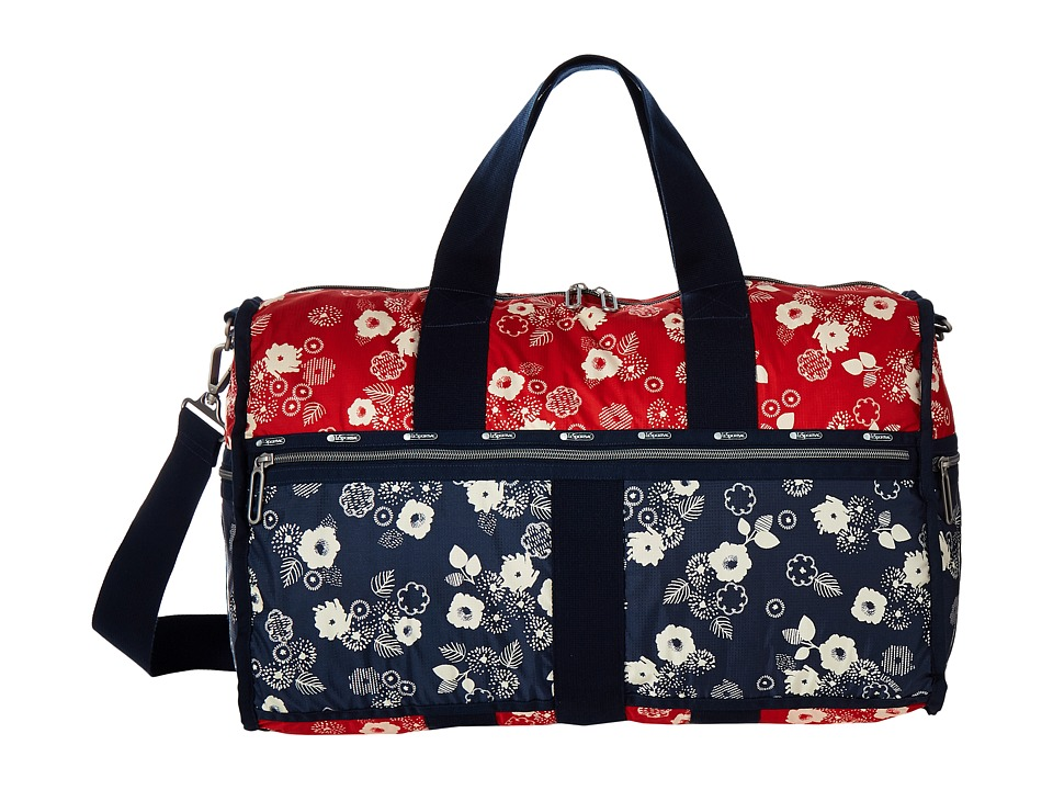 LeSportsac Luggage - Large Weekender (Autumn Floral) Weekender/Overnight Luggage