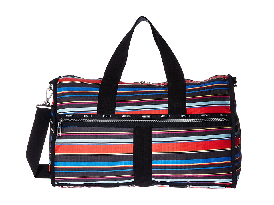 LeSportsac Luggage - Large Weekender (Ribbon Stripe) Weekender/Overnight Luggage