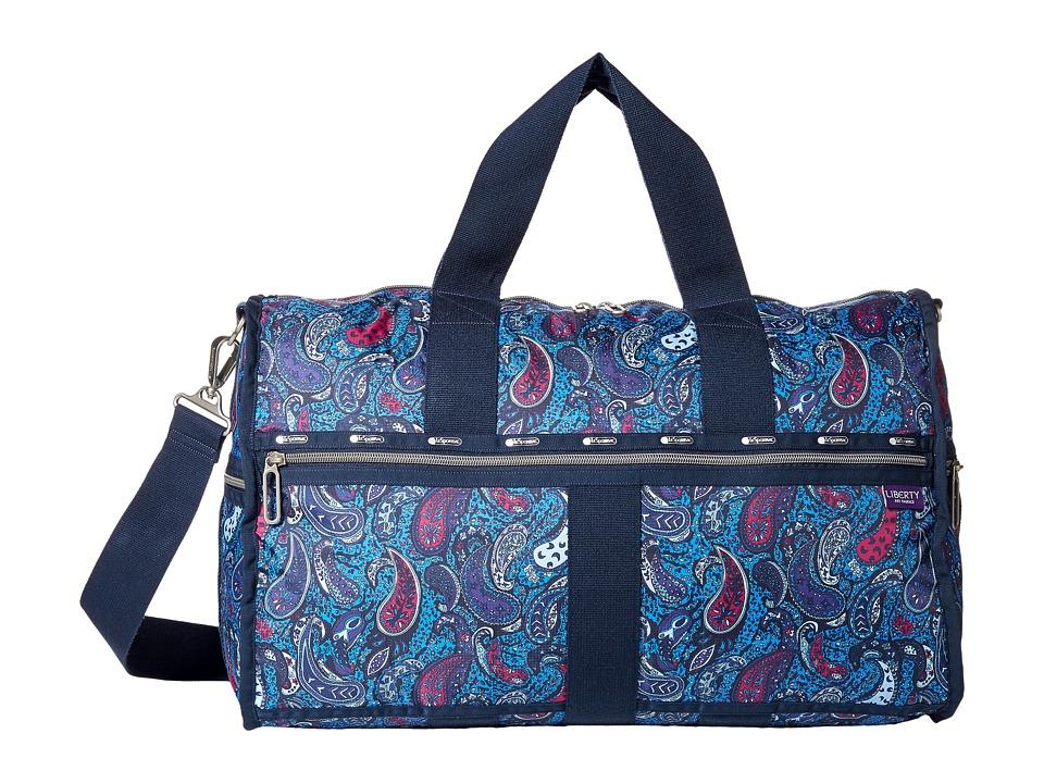 LeSportsac Luggage - Large Weekender (Eastern Voyage Blue) Weekender/Overnight Luggage