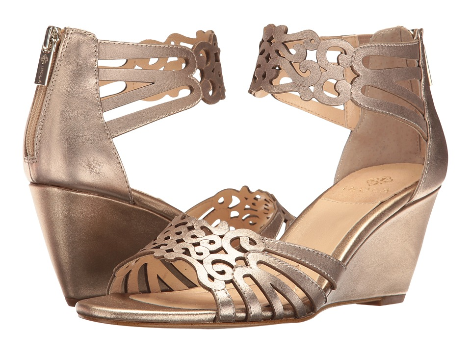 Isola - Felicity (Gold) Women's Wedge Shoes