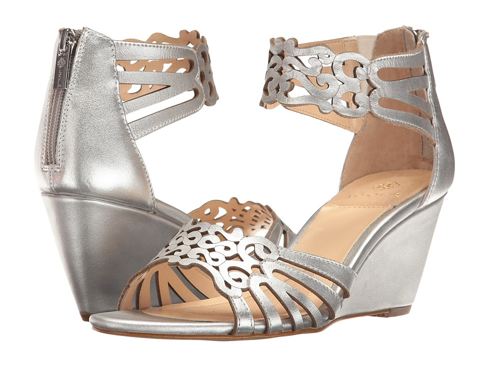 Isola - Felicity (Silver) Women's Wedge Shoes
