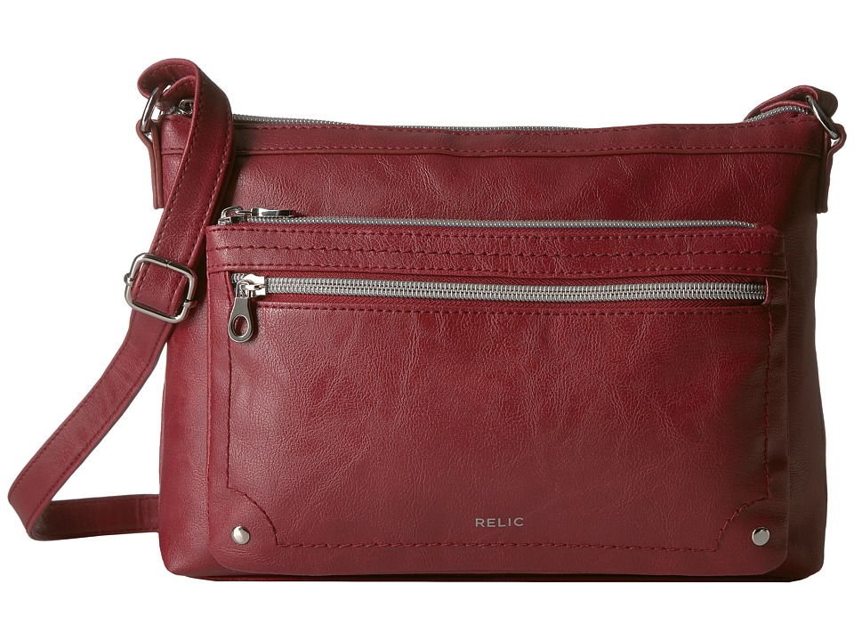 Relic - Evie East West Crossbody (Baked Apple) Cross Body Handbags
