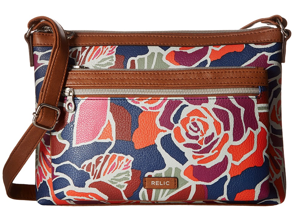 Relic - Evie East West Crossbody (Rose) Cross Body Handbags