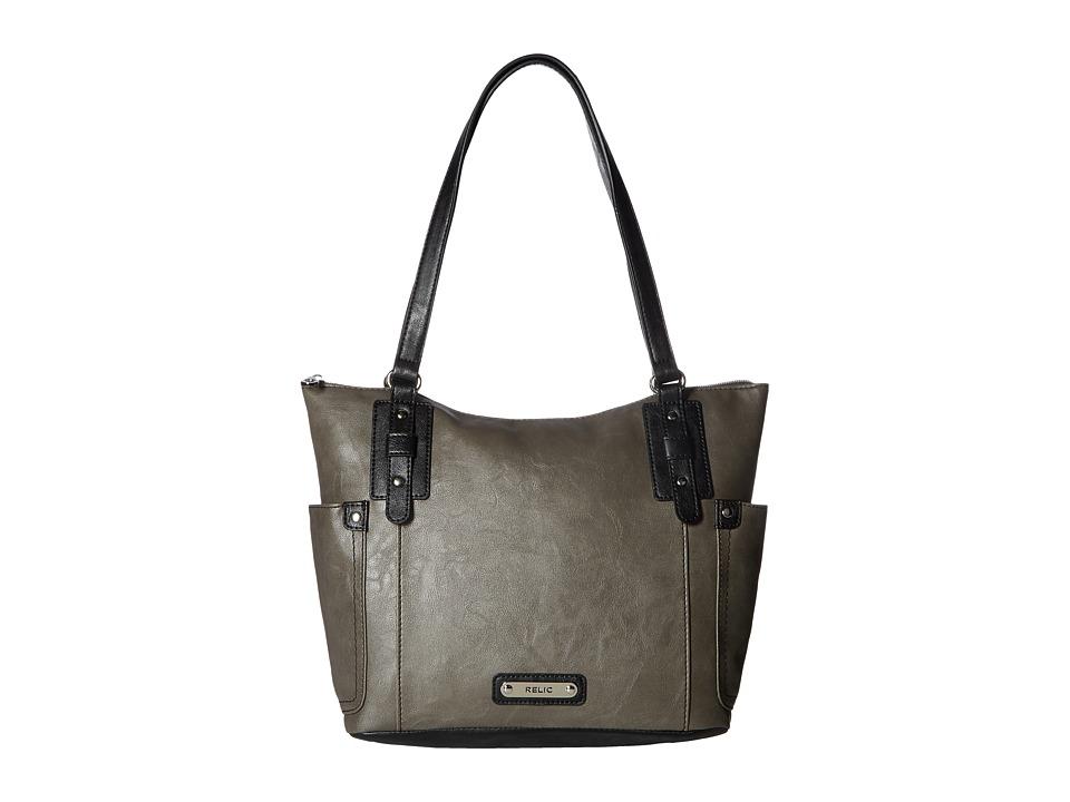 Relic - Monroe Tote (Grey) Tote Handbags